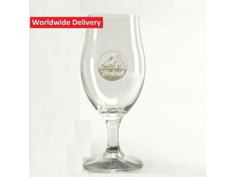 G Bokrijks Kruikenbier Beer Glass