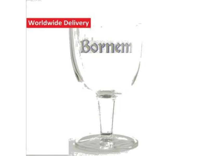 G Bornem Beer Glass