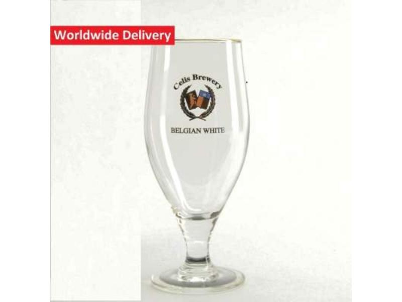 G Celis Beer Glass