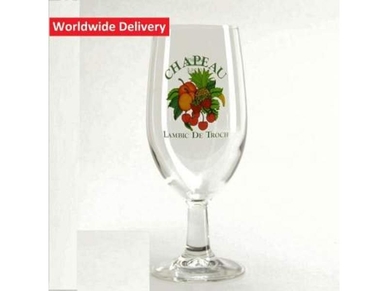 G Chapeau Beer Glass