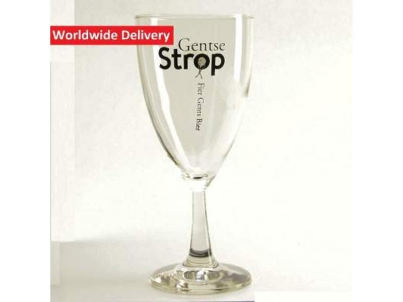 G Gentse Strop Beer Glass