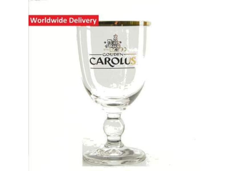 G Gouden Carolus Beer Glass