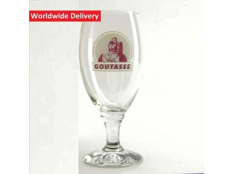 verre a biere gouyasse 33cl acheter en ligne belgian beer factory. Black Bedroom Furniture Sets. Home Design Ideas