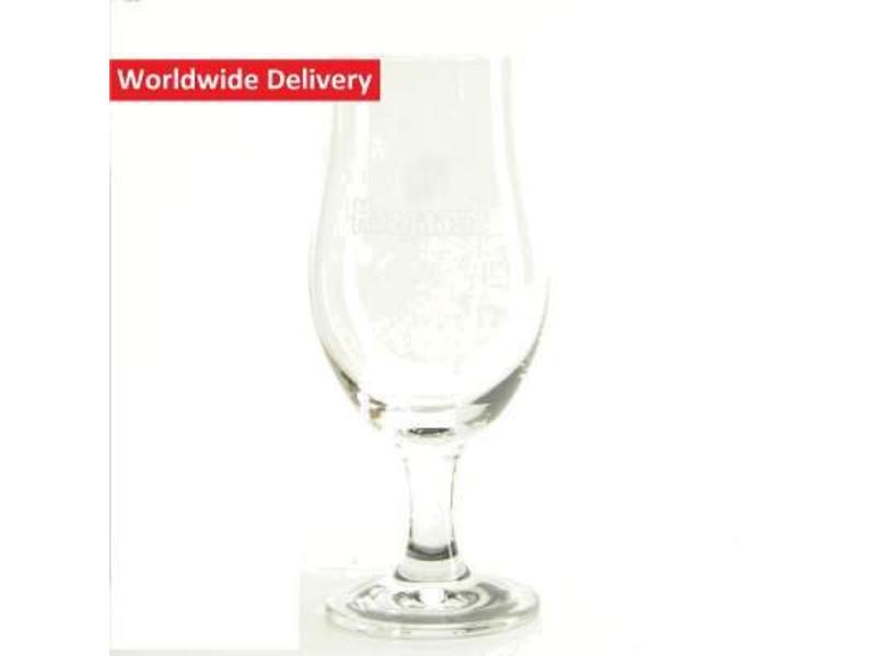 G Hoegaarden On Foot Beer Glass