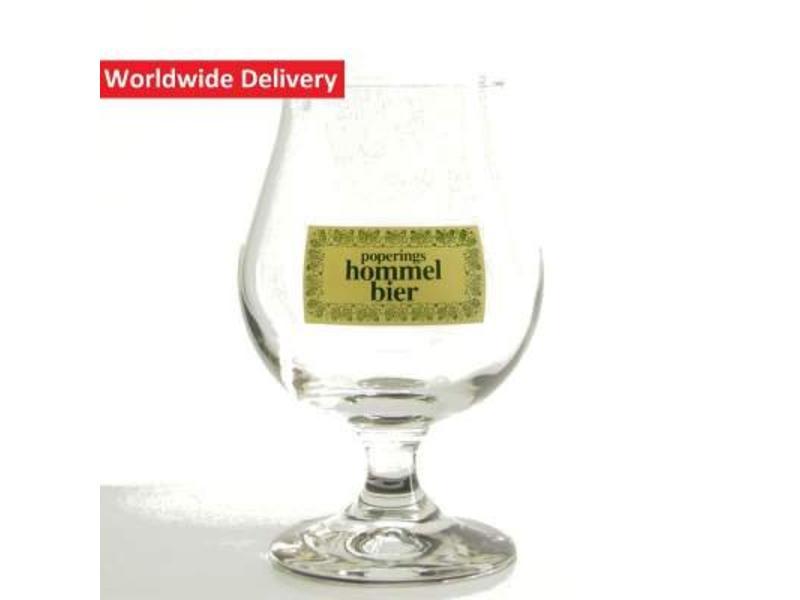 G Hommelbier Beer Glass