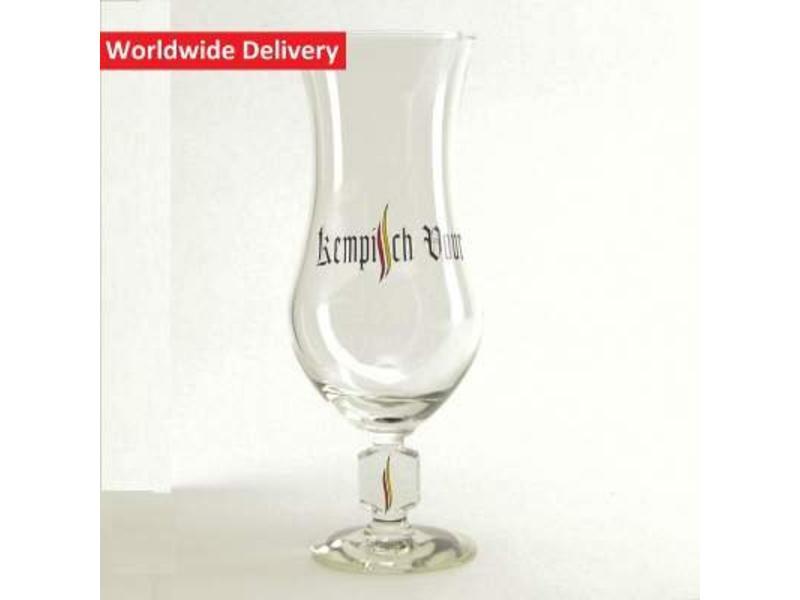 G Kempisch Vuur Beer Glass