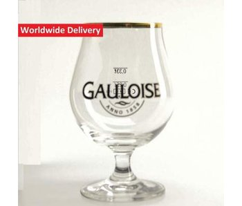 La Gauloise Beer Glass - 33cl