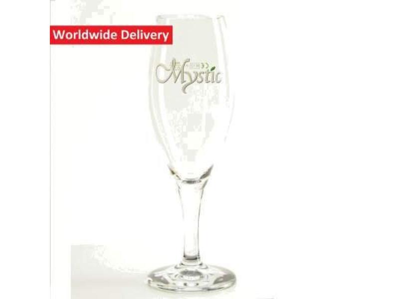 G Kriek Mystic Beer Glass