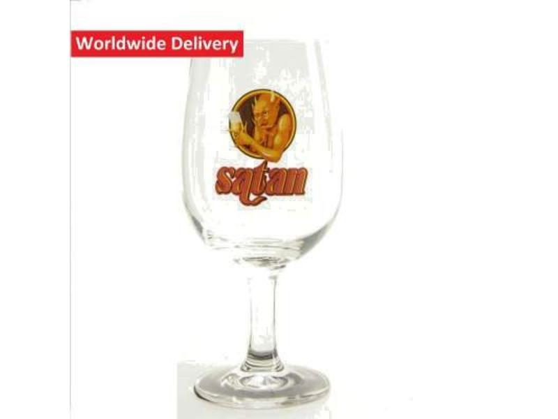 G Satan Beer Glass