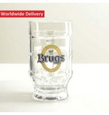 G Brugs Witbier Beer Glass