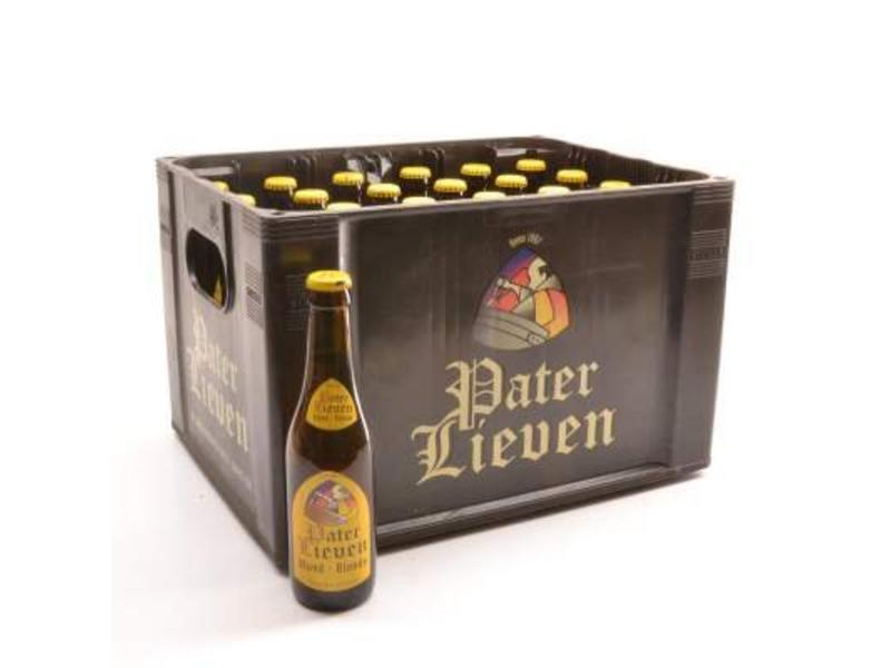 D Pater Lieven Blond Bierkorting