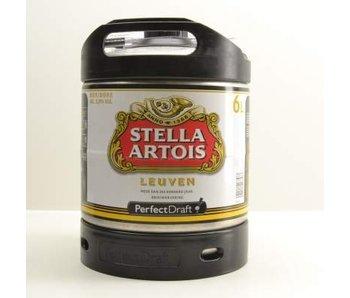 Stella Artois fut de Biere Perfect Draft - 6l