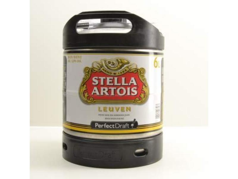 F Stella Artois Perfect Draft Fass