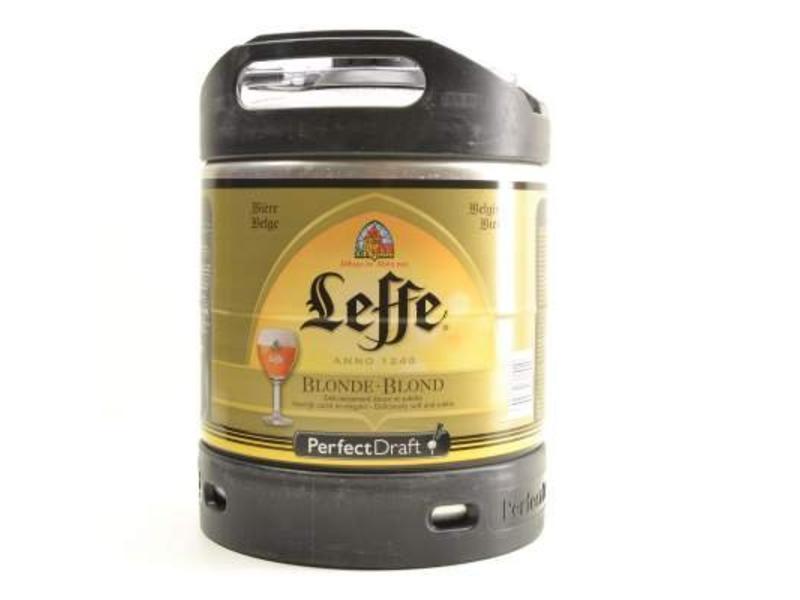 F Leffe Blonde Perfect Draft Keg