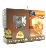 C Leffe Biergeschenk (4x33cl + 2xgl)