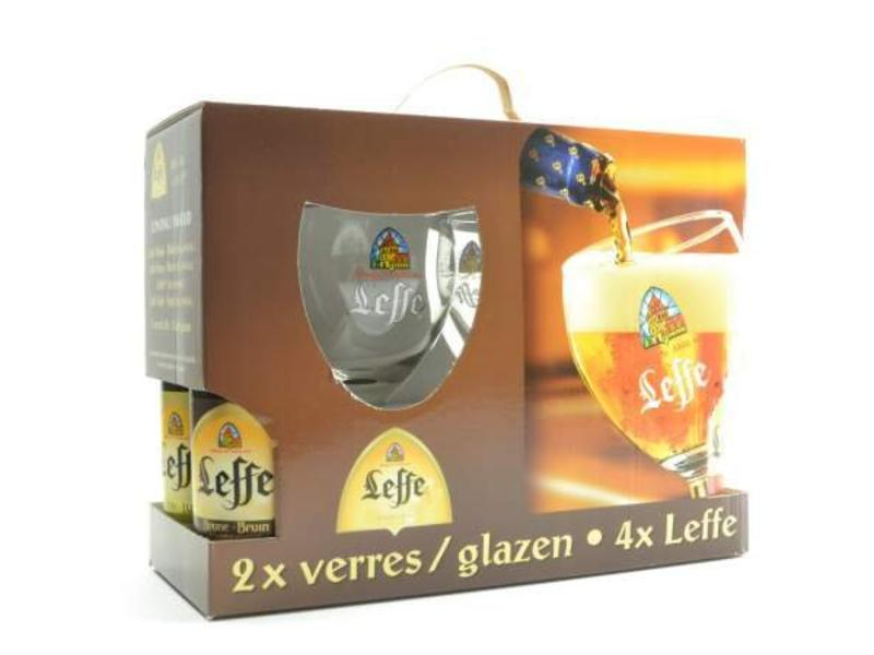 C Leffe Gift Pack (4x33cl + 2xgl)
