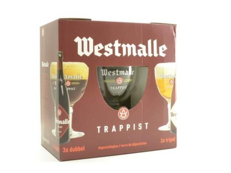C Westmalle Gift Pack (6x33cl + gl)