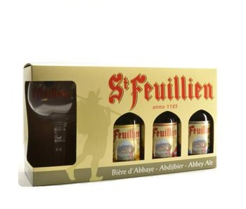 St Feuillien Bier Geschenk