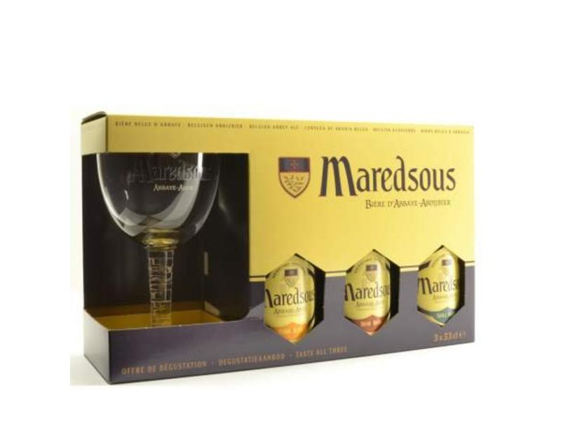 C Maredsous Gift Pack (Glass)