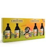 C Chouffe Bier Geschenk (4x33cl + gl)
