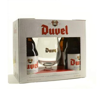 Duvel Gift Pack (4x33cl + gl)
