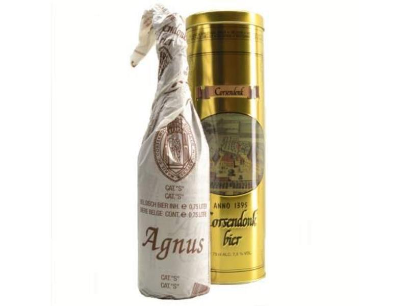 C Corsendonk Agnus Bier Geschenk