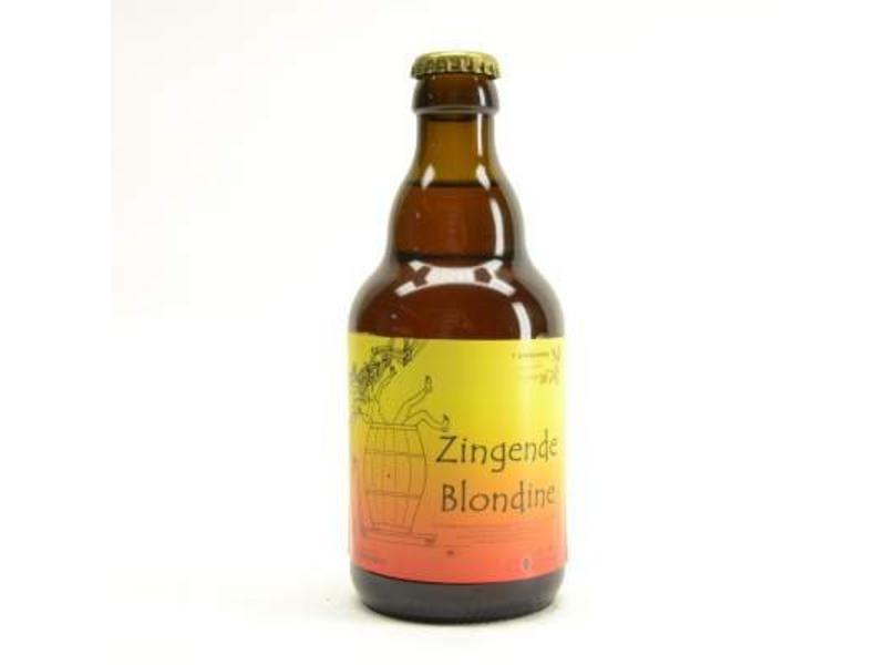 A Gaverhopke Zingende Blondine