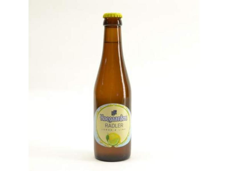 A Hoegaarden Radler Lemon and Lime