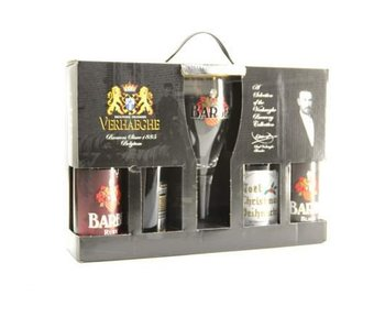Barbe Beer Gift Pack (4x33cl + gl)