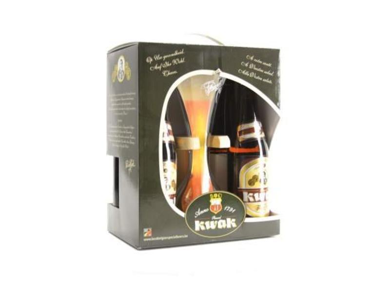 C Pauwel Kwak Gift Pack (4x33cl + gl)