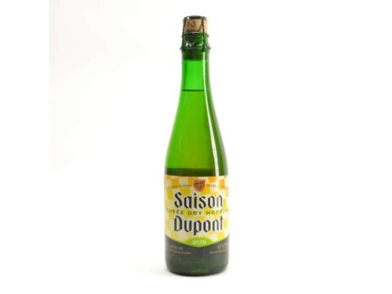 A Saison Dupont Cuvee Dry Hopping