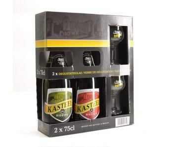 Kasteel Bier Geschenk (2x75cl + 2xgl)
