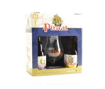 Piraat Bier Geschenk (2x33cl + gl)