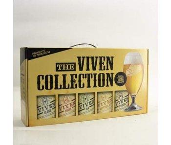 Coffret cadeau Viven (5x33cl + gl)