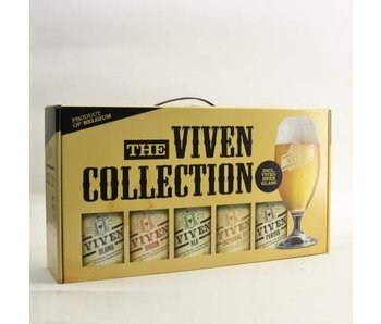 Viven Gift Pack (5x33cl + gl)