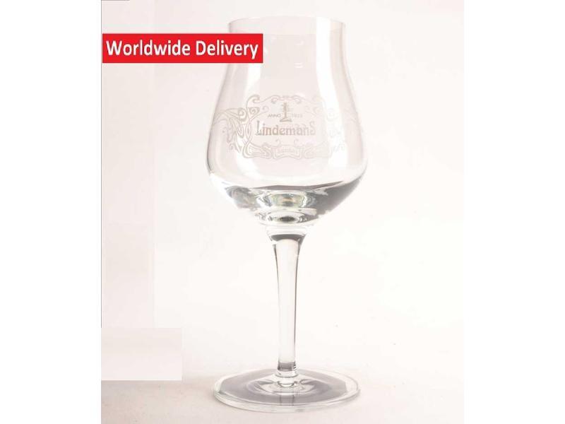 G Kriek Lindemans Beer Glass