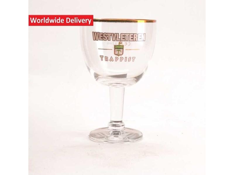 G Westvleteren Trappist Beer Glass