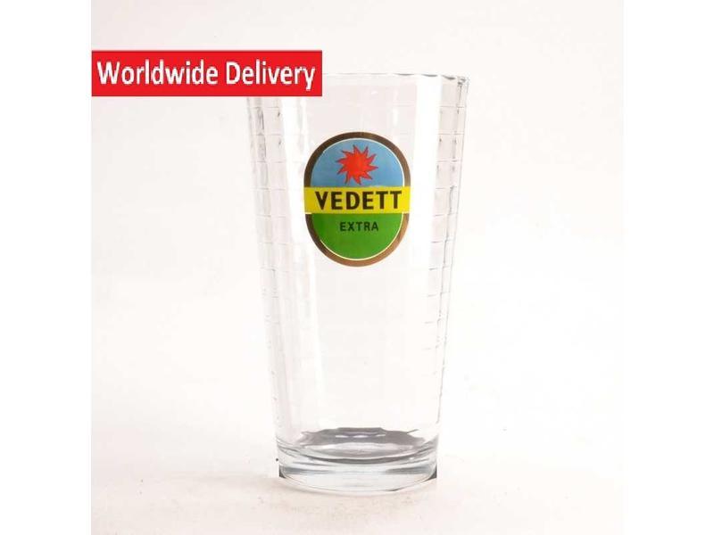 G1 Vedett Beer Glass