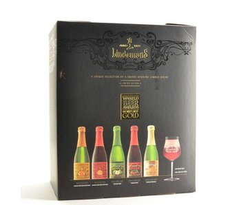 Lindemans Beer Gift (5x37.5cl + gl)