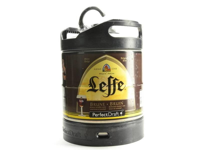 F Leffe Bruin Perfect Draft vat