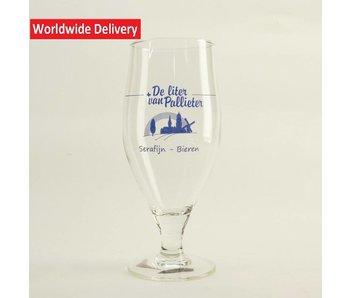 De Liter van Palieter Bierglas 33cl