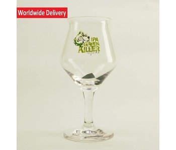 Green Killer Beer Glass 25cl