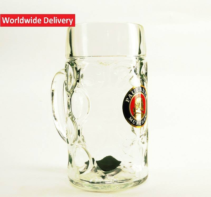 paulaner bierglas 1l belgian beer factory. Black Bedroom Furniture Sets. Home Design Ideas