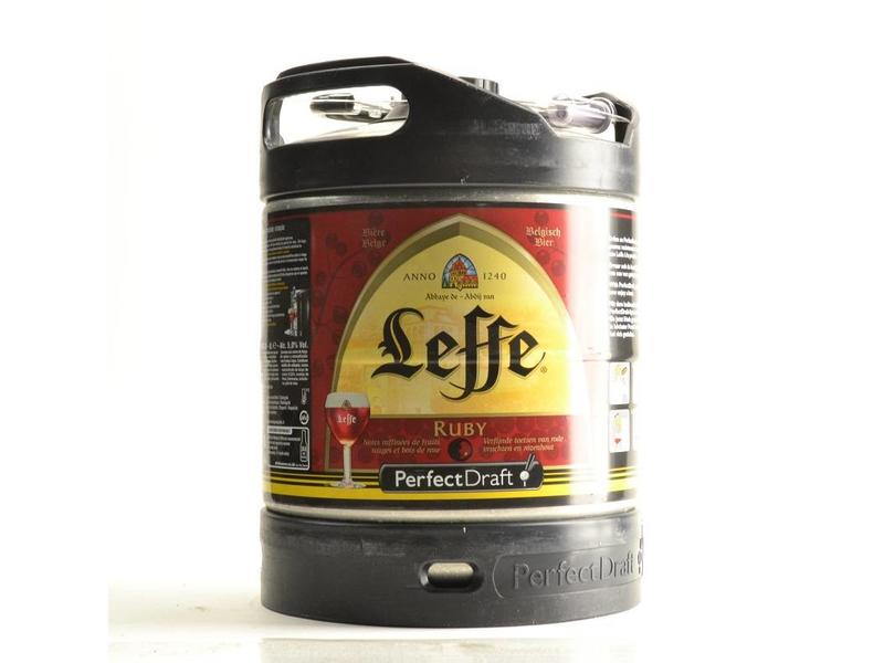 F3 Leffe Ruby Perfect Draft keg - 6l