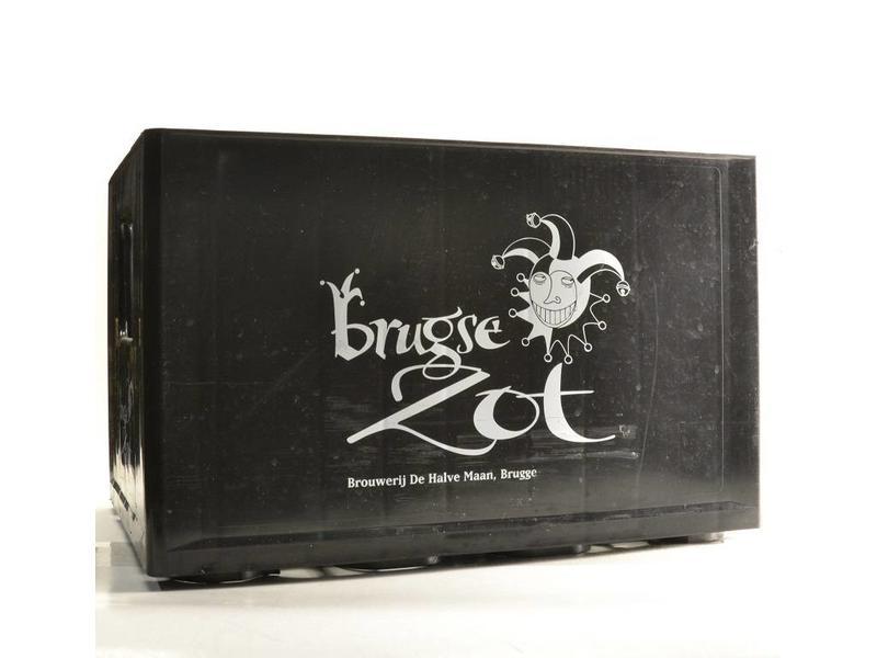 R Brugse Zot Beer Crate