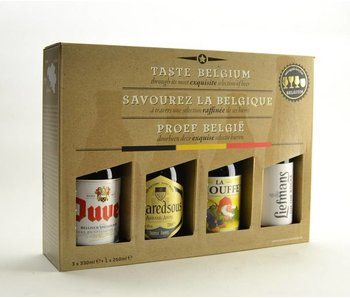 Proef Belgie Biergeschenk