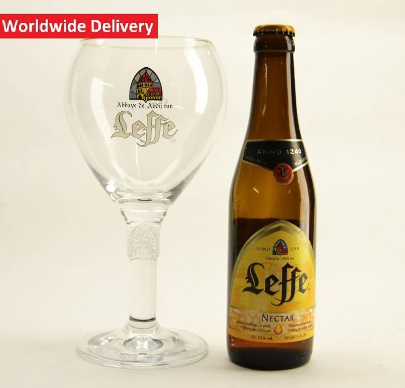 leffe verre a biere large 50cl belgian beer factory. Black Bedroom Furniture Sets. Home Design Ideas