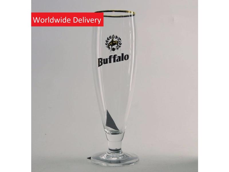 G Buffalo Beer Glass