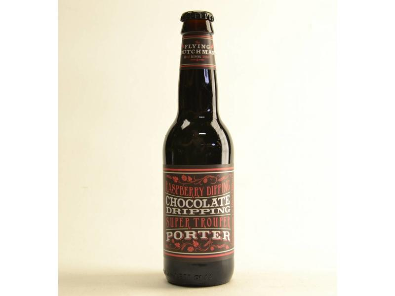 A4 Raspberry Dipping Chocolate Dripping Super Trouper Porter - 33cl