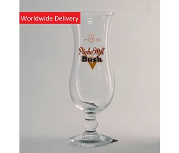 Bush Peche Mel Beer Glass - 33cl